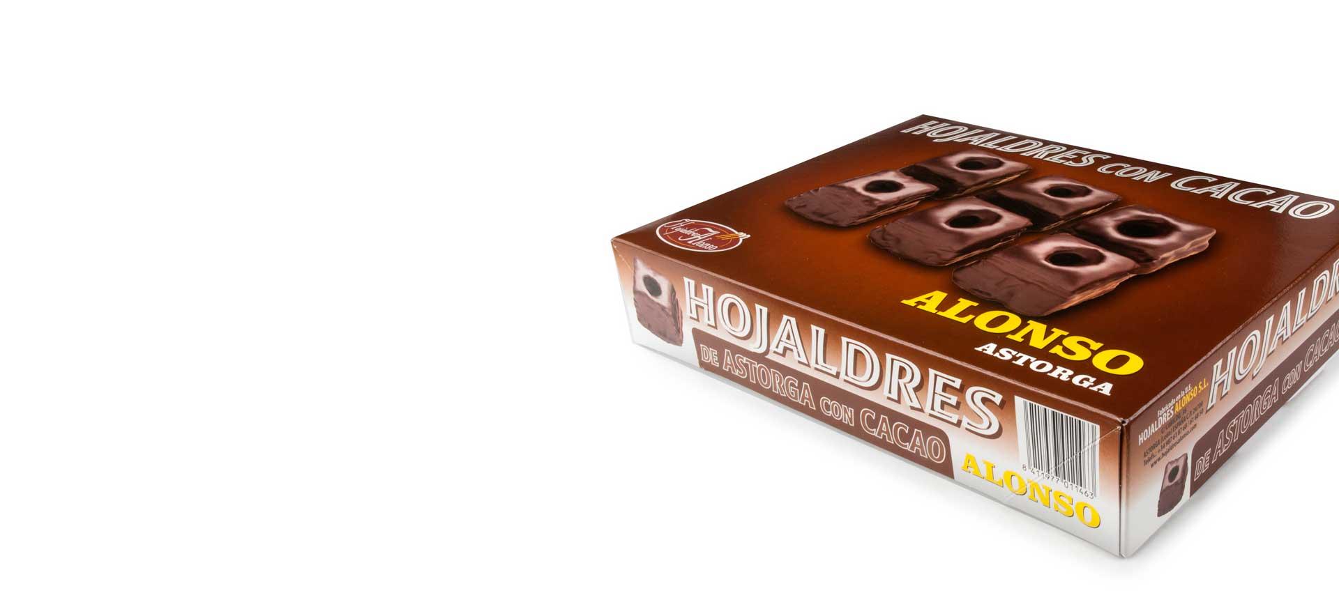 Hojaldre con Cacao